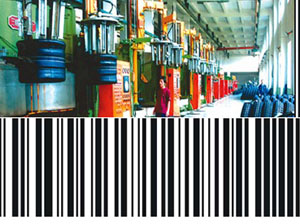 The tire barcode information management system