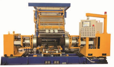 Air spring forming machine